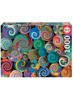 Puzzle 1000 piezas Cestas africanas