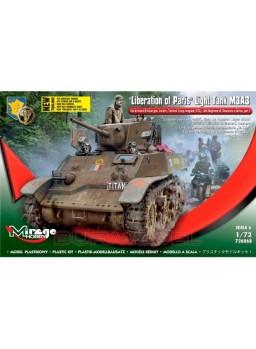"""Maqueta tanque """"Liberación en París"""" M3A3 1:72"""