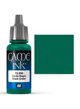 Pintura Vallejo Game Ink Tinta Verde Negro 17ml