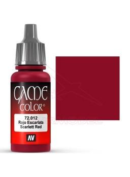 Pintura Game Color Rojo Escarlata