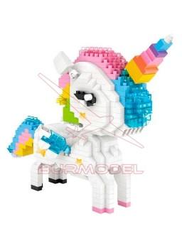 Juego de construcción Unicornio 640 piezas