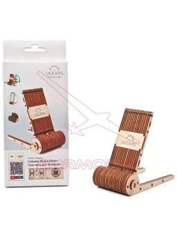 Kit madera para montar soporte para smartphone