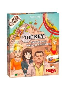 Juego The Key-Sabotaje en el parque de atracciones