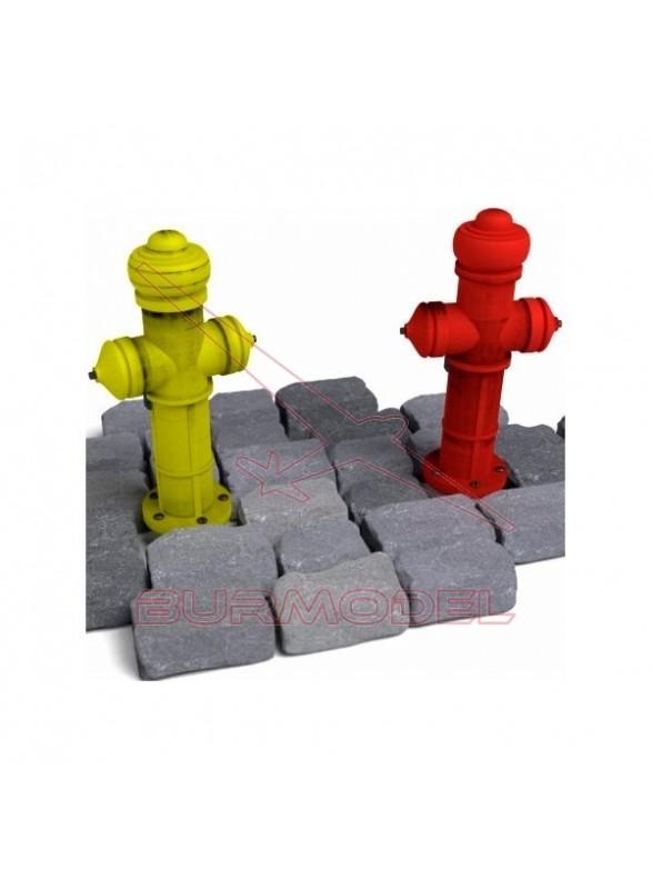 Miniatura en plástico Hidratantes de incendios