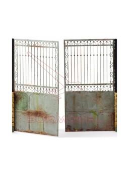 Fotograbado Puerta Valla Set B 1/35 Matho