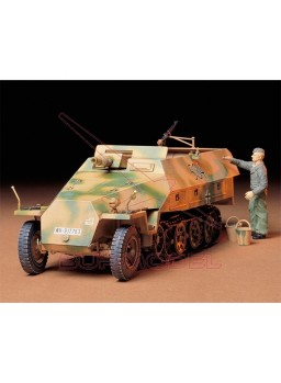 Maqueta Mtl.Spw.Sd.Kfz.251/9 Ausf.D Kanonenwagen