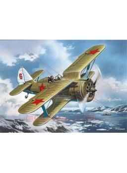 Avión Biplano Soviético I-153 IIGM 1:48