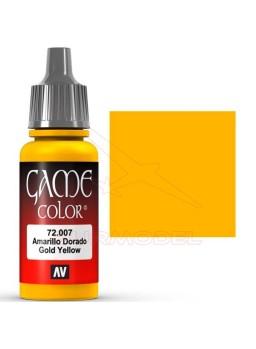 Pintura Game Color Amarillo Dorado