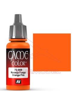 Pintura Game Color Naranja Fuego