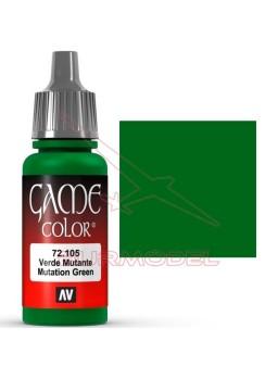 Pintura Verde Mutante Game Color 17ml