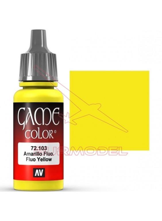 Pintura Amarillo Fluorescente Game Color 17ml