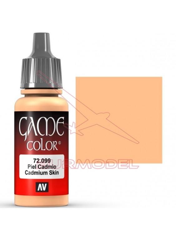 Pintura Piel Cadmio Game Color 17ml