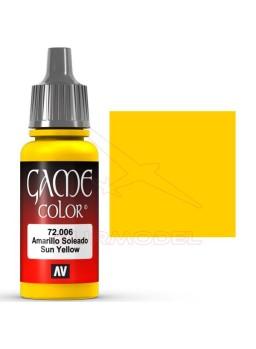 Pintura Amarillo Soleado Game Color 17ml