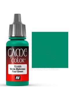 Pintura Verde Malicioso Game Color 17ml