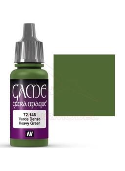 Pintura Verde Denso Extra Opaco Game Color 17ml