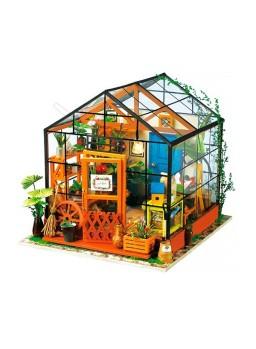 Maqueta DIY Miniature House Rincón Invernadero