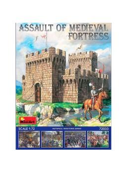 Maqueta castillo 1:72 MiniArt