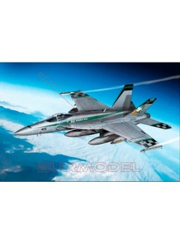 Maqueta avión USN F/A-18E 1:72