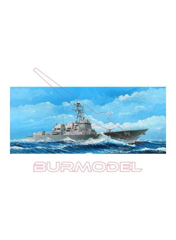 Maqueta USS Forrest Sherman 1/350