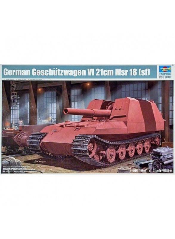 Maqueta tanque Geschutzwagen VI 1:35