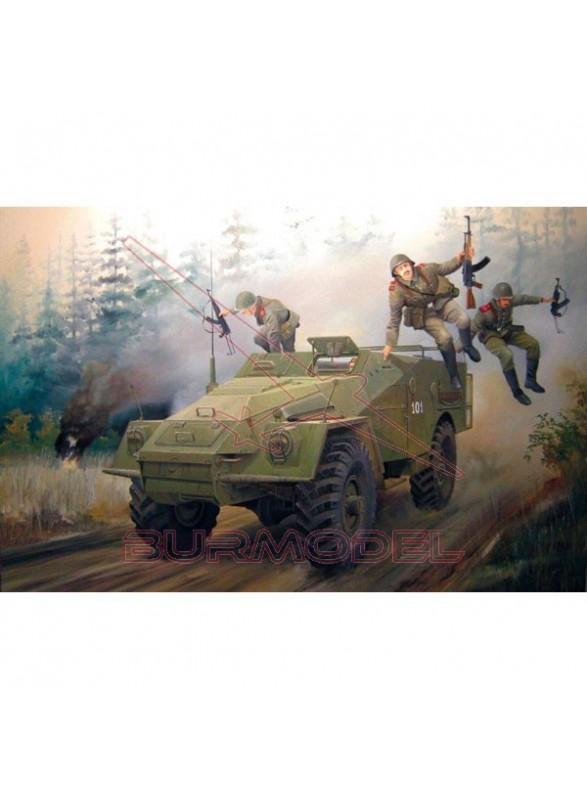 Maqueta Russian BTR-40APD 1/35