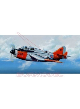 "Maqueta avión British ""Gannet"" T.MK. 2 1:72"