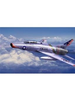 Maqueta avión F-100 Super Sabre