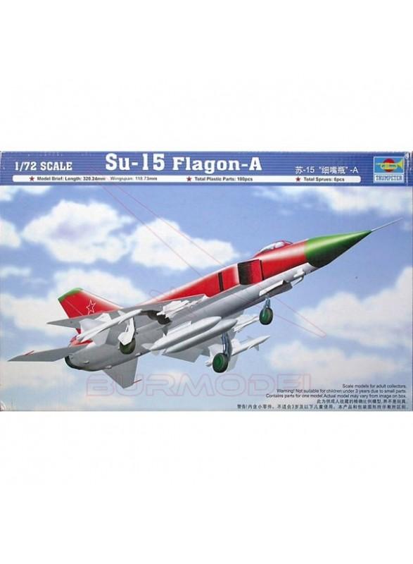 Maqueta avión SU-15 Flagon-A 1:72