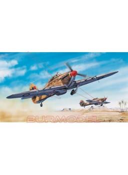 Maqueta avión Hurricane Mk.II C/Trop 1/24