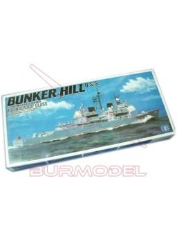 Maqueta barco Bunker Hill U.S.S. 1:700 nº 3