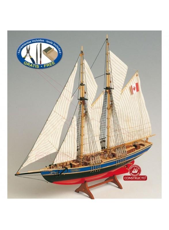 Barco Constructo Bluenose II 1/135