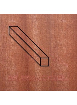 Paquete listón Sapelly 2 x 5 mm (7 unidades)