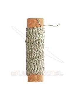 Hilo crudo de algodón 0,5 mm (20m)