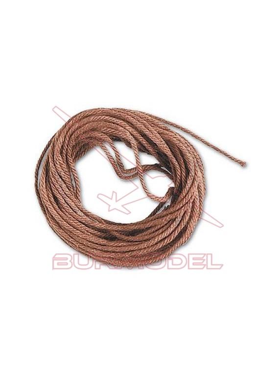 Hilo marrón de algodón 1.5 mm (5 m)