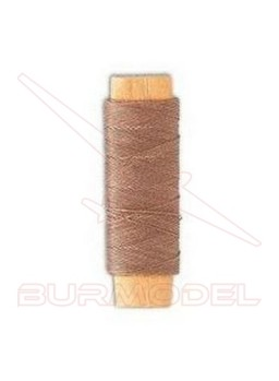 Hilo marrón de algodón 0.15 mm (40 m)
