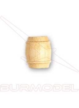 Barril de boj 12 mm (4 unidades)