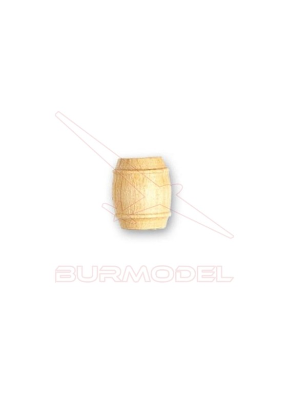 Barril de boj 12 mm (4 unidades)