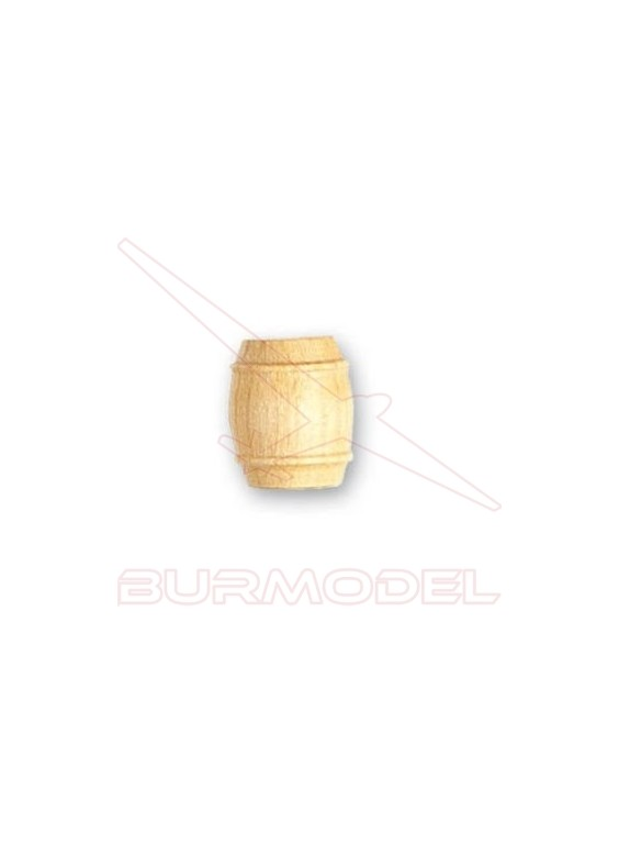 Barril de boj 18 mm (2 unidades)