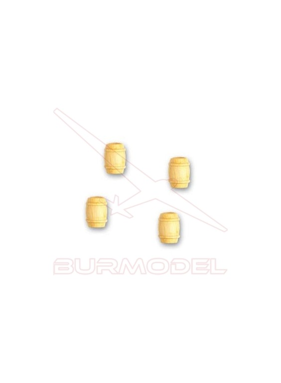 Barril de boj 8 mm (4 unidades)
