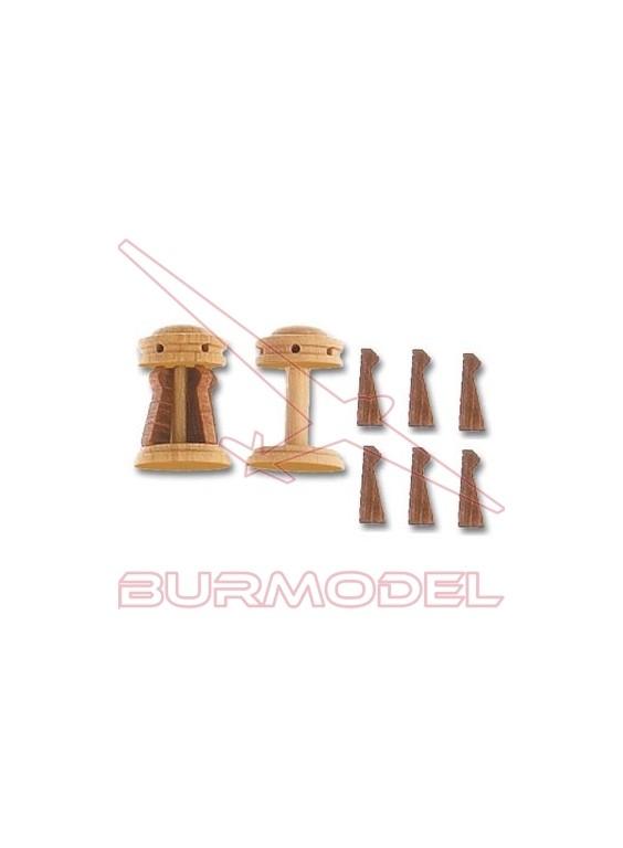 Cabestrante vertical+guardainfantes 15 mm (2und.)
