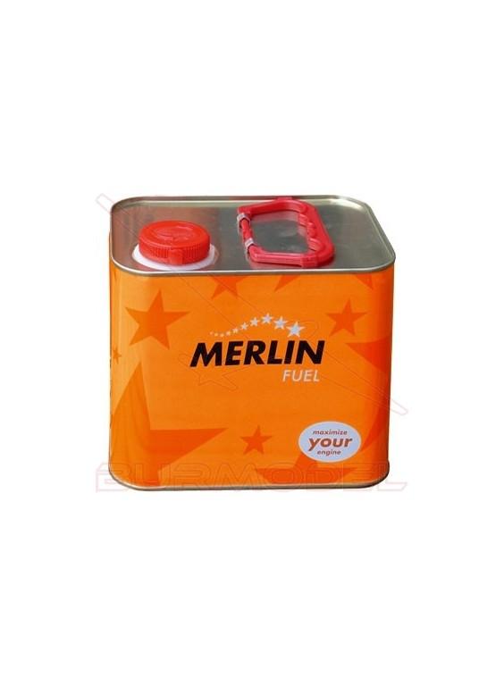 Combustible Merlin Fuel 10% nitrometano.2,5 litros