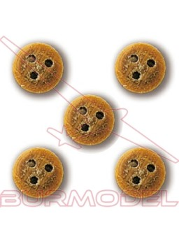 Vigota de 5 mm (20 unidades)
