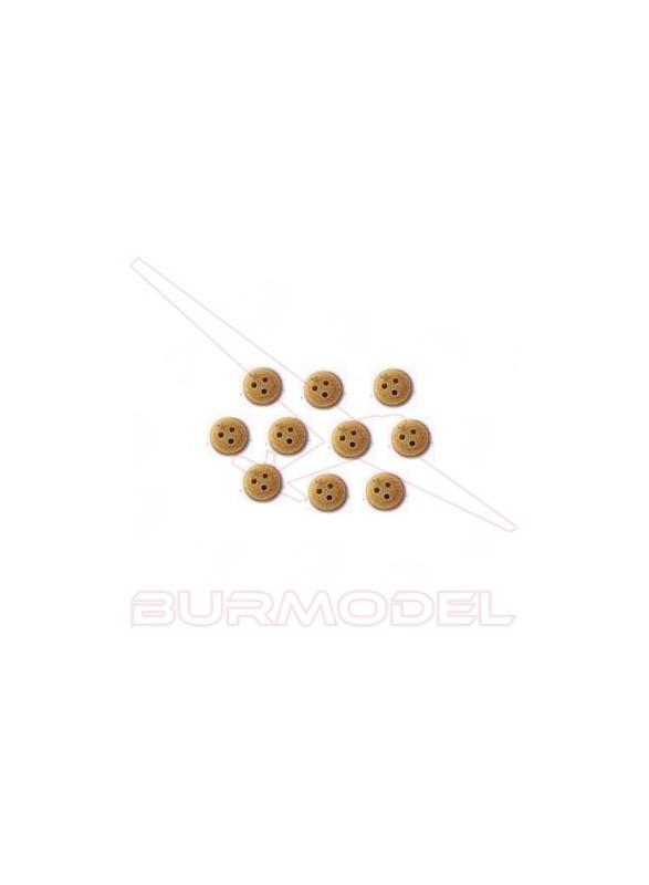 Vigota de Boj 3.5 mm (18 unidades)