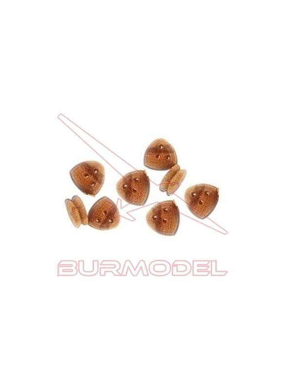 Vigota triangular 5 mm (8 unidades)