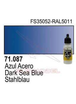 Pintura Vallejo Azul acero 087