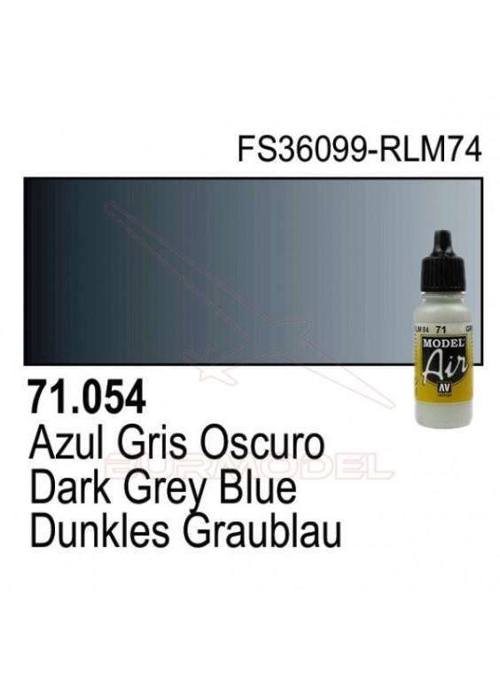 Pintura Vallejo Azul gris oscuro 054