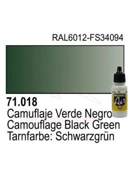Pintura Vallejo Cam. Verde negro 018