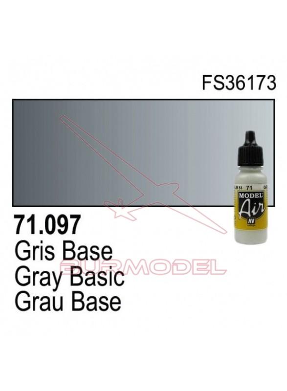 Pintura Vallejo Gris base 097