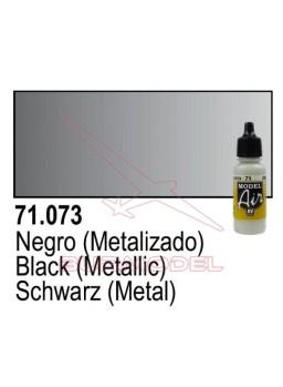 Pintura Vallejo Negro Metálico 073
