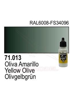 Pintura Vallejo Oliva amarillo 013